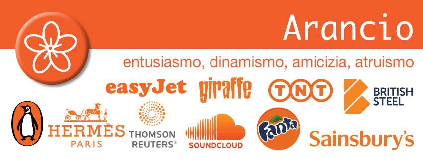 Arancio - colori nel marketing