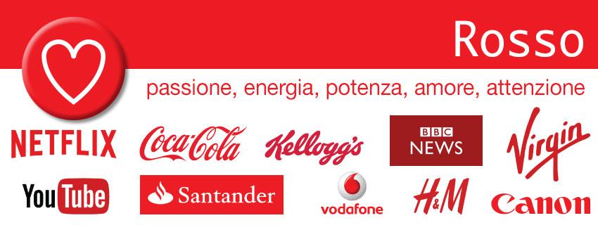 Rosso - colori nel marketing