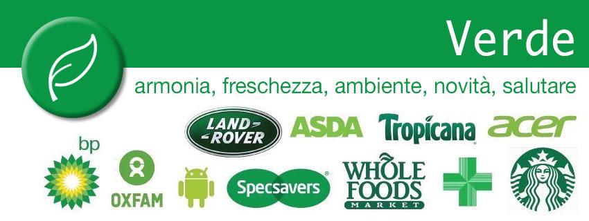 Verde - colori nel marketing